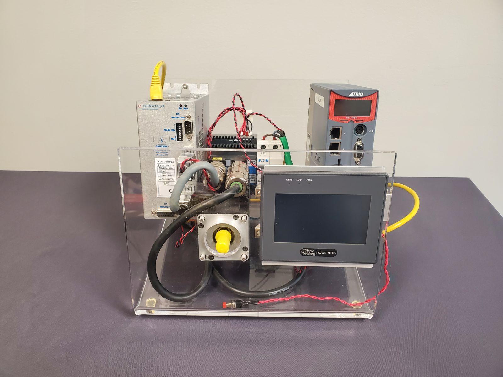 Infranor Standalone PAC simulator Demo